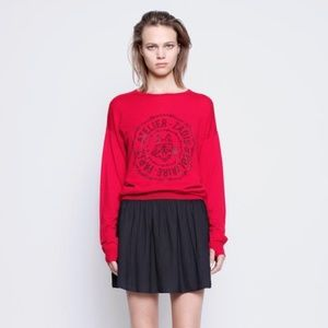 Zadig & Voltaire Juck Black Mini Skirt Crepe